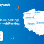 12 nowych parkingów w SkyCash - mapka